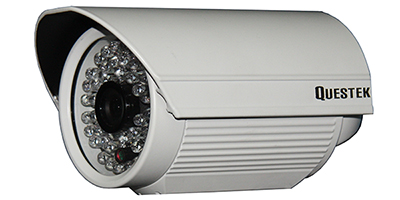 "QUESTEK -- QTC-203c: Camera thân hồng ngoại 1/3"" Super Exwave SONY CCD 500 TVL"