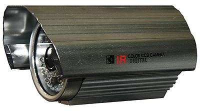 "QUESTEK -- QTC-204c: Camera thân hồng ngoại 1/3"" Super Exwave SONY CCD 500 TVL"