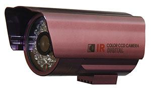 "QUESTEK -- QTC-208: Camera thân hồng ngoại 1/3"" Super Exwave SONY CCD 480 TVL"
