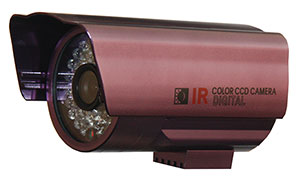 "QUESTEK - QTC-228D: Camera thân hồng ngoại 1/3"" Super Exwave SONY CCD 520 TVL"