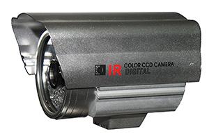 "QUESTEK - QTC-228c: Camera thân hồng ngoại 1/3"" Super Exwave SONY CCD 500 TVL"