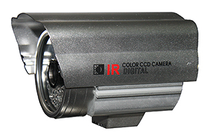 "QUESTEK - QTC-204: Camera thân hồng ngoại 1/3"" Super Exwave SONY CCD 480 TVL"