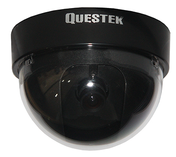 QTC-303c - QUESTEK - Camera Dome 1/3 Sony CCD, 500 TV Lines