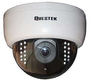 "QUESTEK -- QTC-402F: Camera Dome hồng ngoại 1/3"" Type ExView HAD Sony CCD II, 650 TVL"