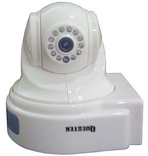 QUESTEK - QTC - 907: Camera IP màu, H.264, xoay 4 chiều