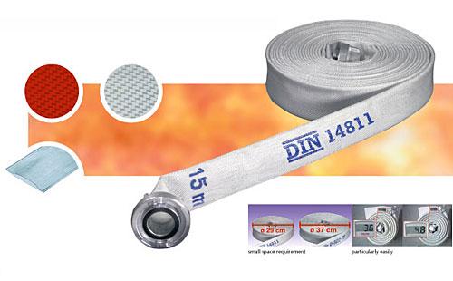 Vòi chữa cháy JAKOB - Synthetic X2000 - D60