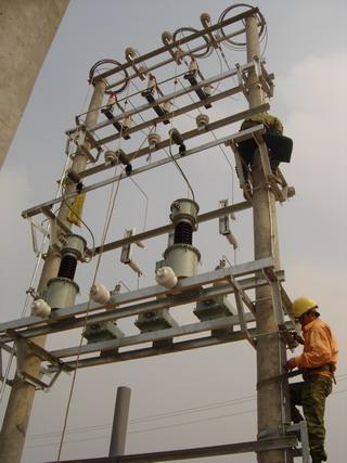 Thi công xây lắp điện , trạm biến áp